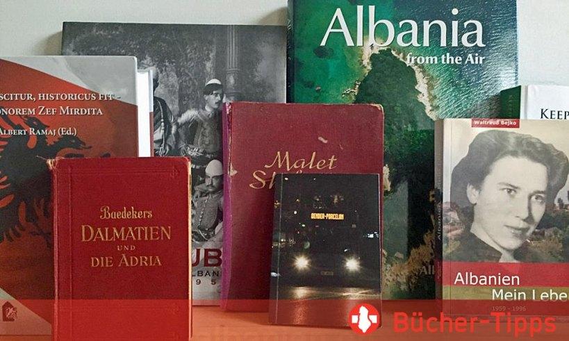 Büchertipps Albanien