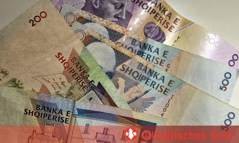Bezahlen und Geld in Albanien