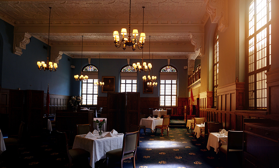 Albany Club Main Dining Room