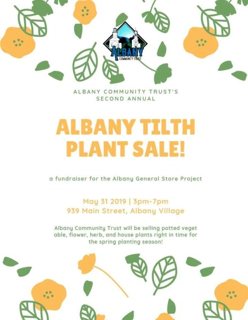 Albany Tilth Plant Sale