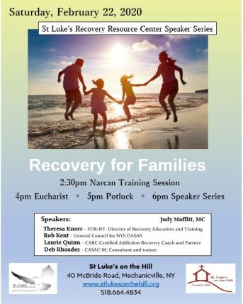 Feb 22 Recovery for Families