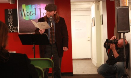 Robert Milby and Tony Pena at The Northeast Poetry Center's College of Poetry