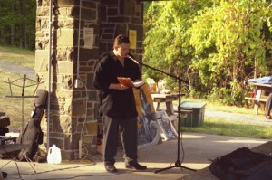 R.M. Engelhardt at 2001 Albany Word Fest