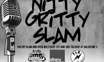 Nitty Gritty Slam #16 – Word Fest Edition – at Valentine's on Tuesday, April 17