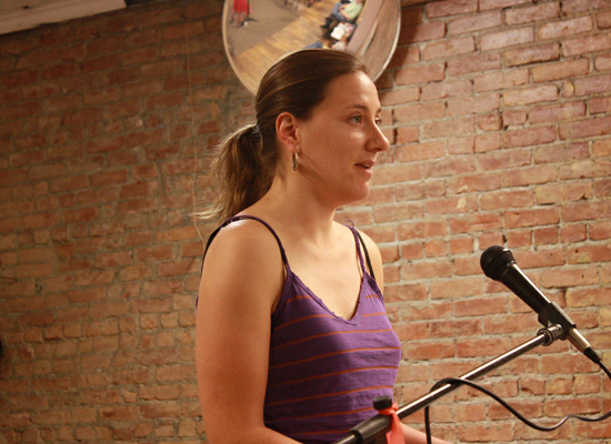 Third Thursday Poetry Night Featuring Anna Eyre
