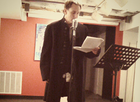 "Saint Poem and ""The Literary Rogue"" Launch"