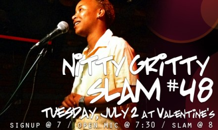 Nitty Gritty Slam #48 – Spoken Word, Slam, and The Poet Essence