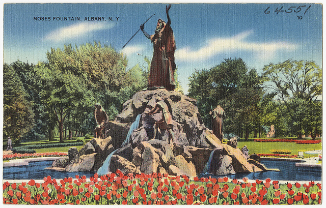 Moses Statue in Washington Park
