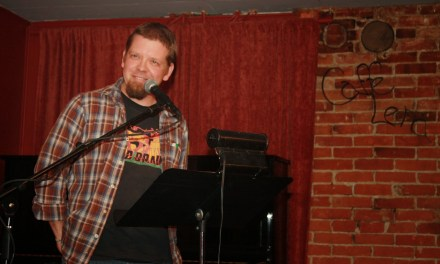 Sunday Four Poetry Open Mic with Featured Poet Andy Fogle