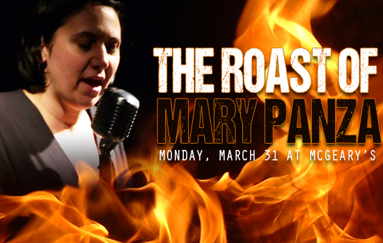 The Poets Speak Loud Roast of Mary Panza