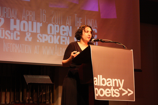 Mary Panza at Word Fest 2011