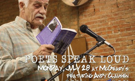 Poets Speak Loud Featuring Andy Clausen