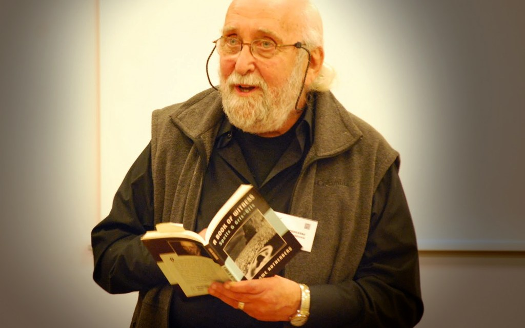 Throwback Audio – Jerome Rothenberg at The UAG Gallery – October 11, 2006, Part Two