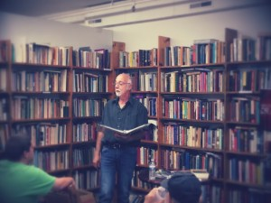 Mike Jurkovic-Reading at Half Moon Books - July 26, 2014 - 3