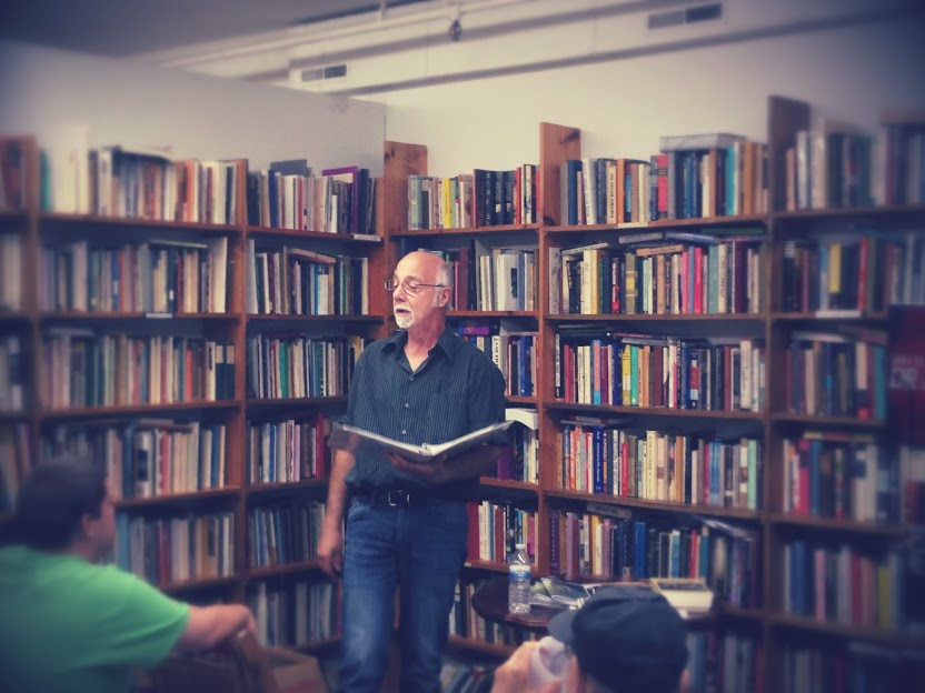 MikeJurkovic-Reading at Half Moon Books - July 26, 2014 - 3