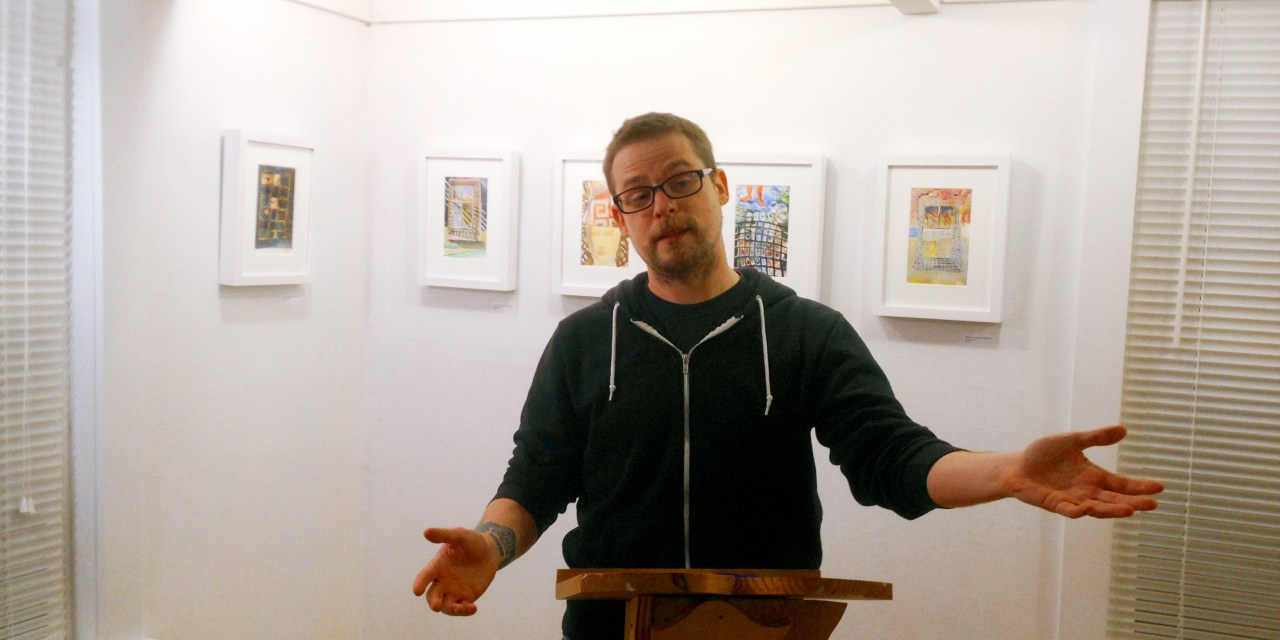 New Audio – Thom Francis at Bright Hill Literary Center – August 14, 2014