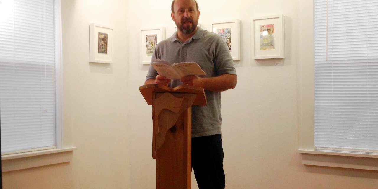 New Audio – Brian Dorn at Bright Hill Literary Center – August 28, 2014