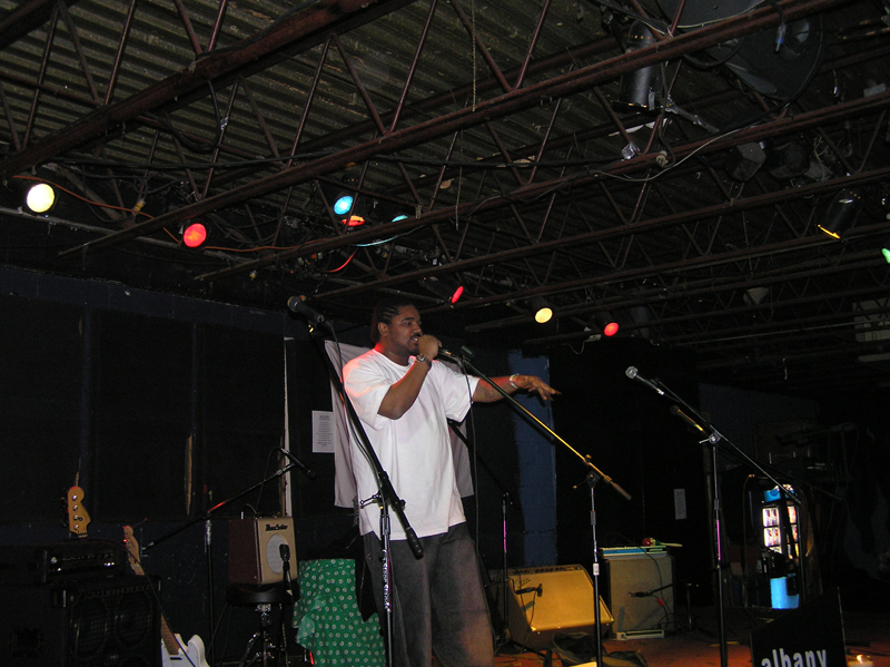 Throwback Audio – Algorhythm at the 2006 Albany Word Fest – April 22, 2006