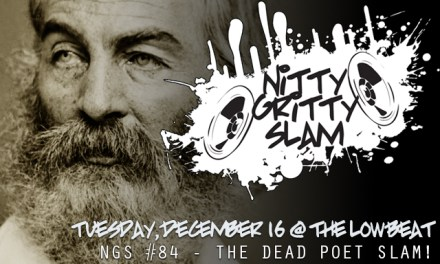 Nitty Gritty Slam #84 – The Dead Poet Slam