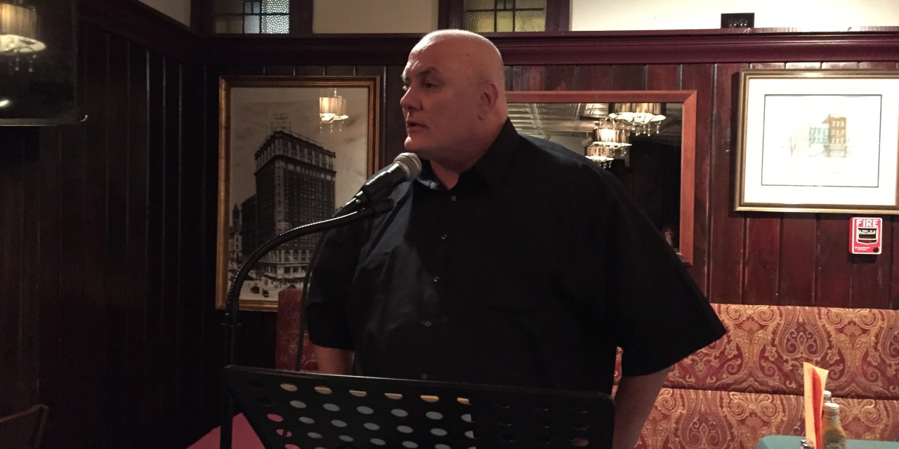 Tim Verhaegen at Poets Speak Loud – October 26, 2015