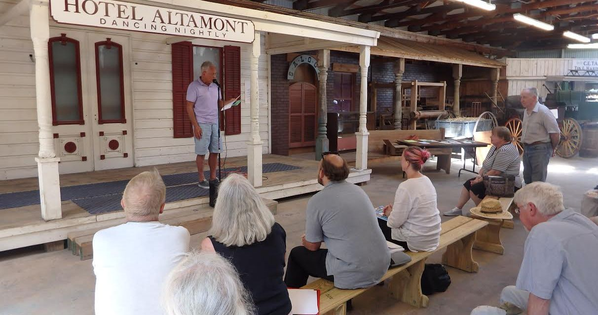 Poetry at the Altamont Fair
