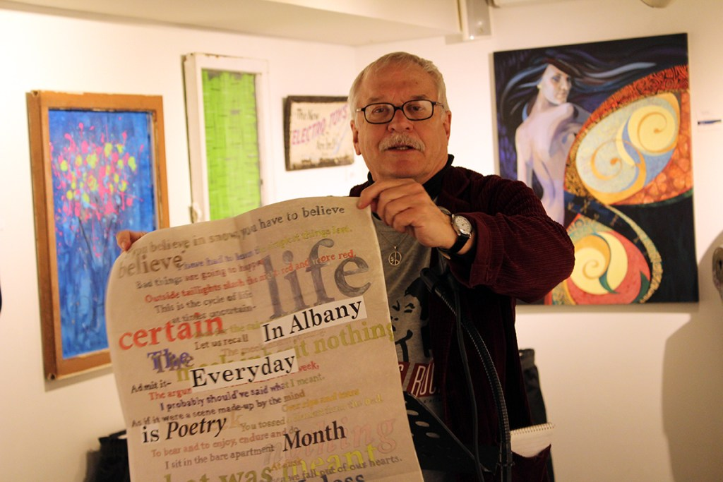 Dan Wilcox - In Albany, Every day is Poetry Month