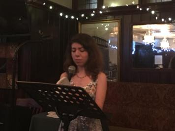 Alyssa D'Amico - Poets Speak Loud, August 27, 2018