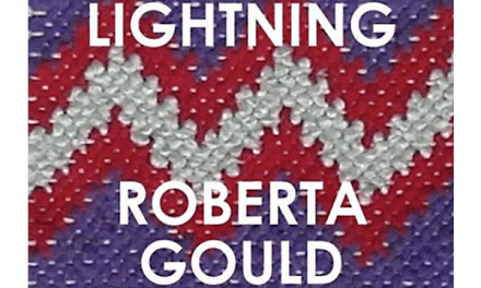 """Woven Lightening"" by Roberta Gould"