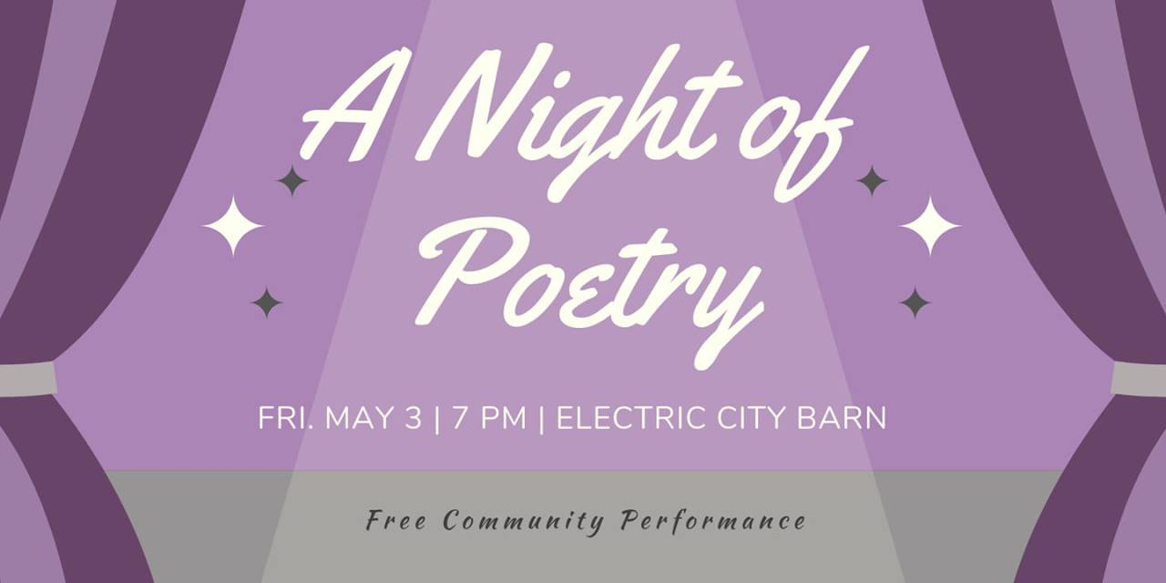 A Night of Poetry Tonight in Schenectady
