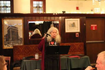 Sylvia Barnard at Poets Speak Loud, September 30, 2019