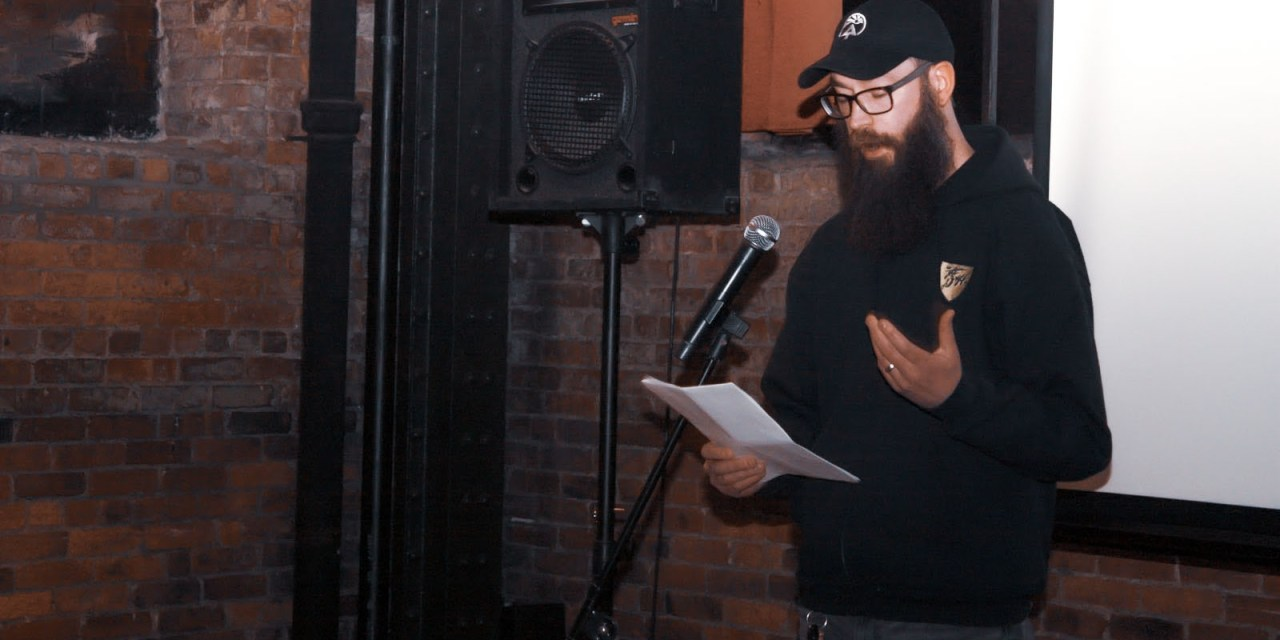 Award-winning Local Writer, Matthew Burns, Publishes Poetry Collection