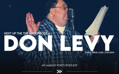 Episode 4: Don Levy at Poets Speak Loud