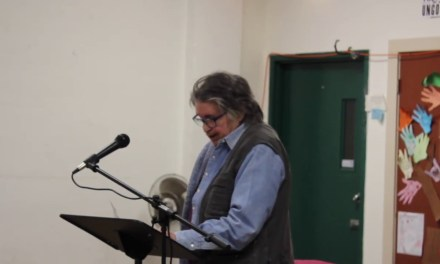 Bernadette Mayer at the Third Thursday Poetry Night