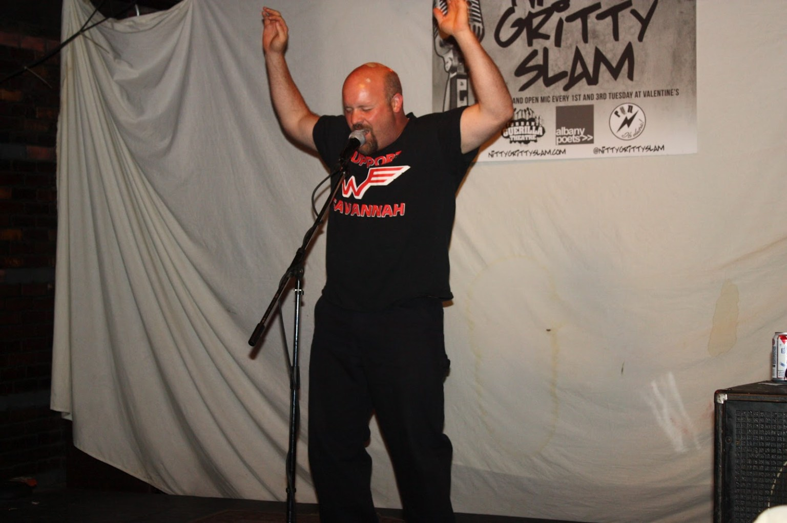 Billy Stanley at NGS 25 - Albany Poets