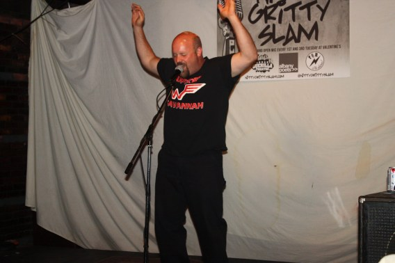Billy Stanley at Nitty Gritty Slam 25 at Valentines in Albany, NY