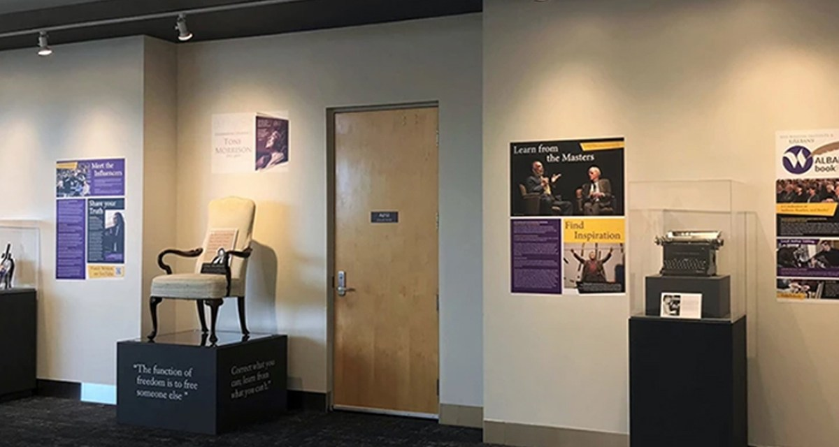 New Writers Institute Exhibit at Albany International Airport