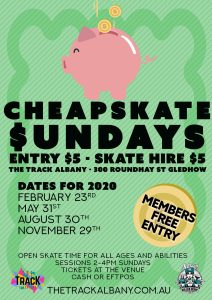 Cheap Skate Sunday 2020