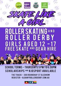 Skate like a Girl POSTER 2020