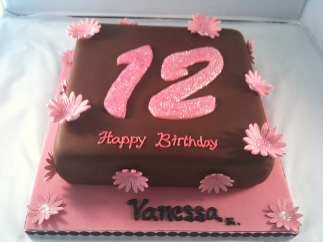 12Th Birthday Cake Girls 12th Birthday Cake Irene Flickr