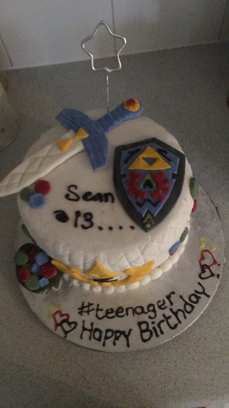13 Birthday Cake My 13th Birthday Zelda Cake Album On Imgur
