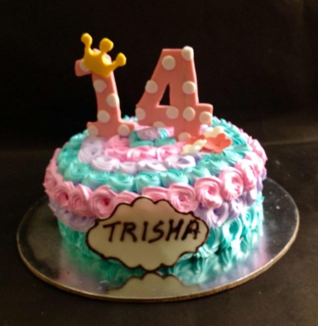 14Th Birthday Cake 14th Birthday Cake