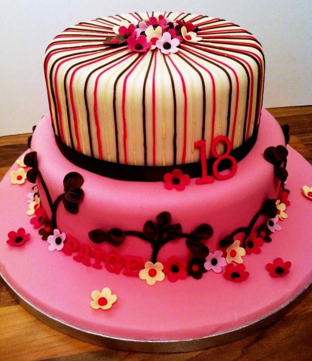18Th Birthday Cake Designs Simple Birthday Cake Design For Girls 18th Birthday Cake Decoration