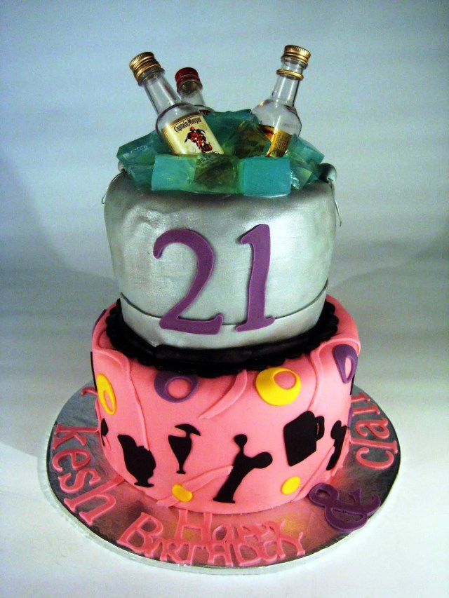 21 Birthday Cakes 21st To Celebrate The Funky Time Protoblogr Design