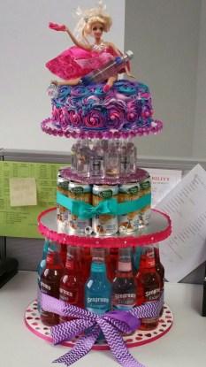21St Birthday Cake Ideas For Her 21st Drunken Barbie Birthday Cake Holidaysgiftsdiycrafts