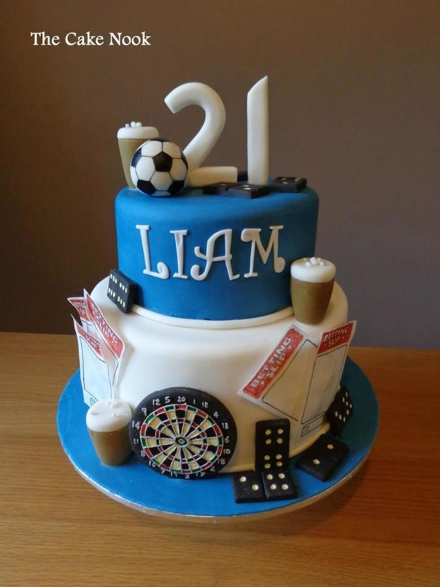 21St Birthday Cakes For Guys 11 Mans Birthday Cakes For 21st Photo Guys 21st Birthday Cake