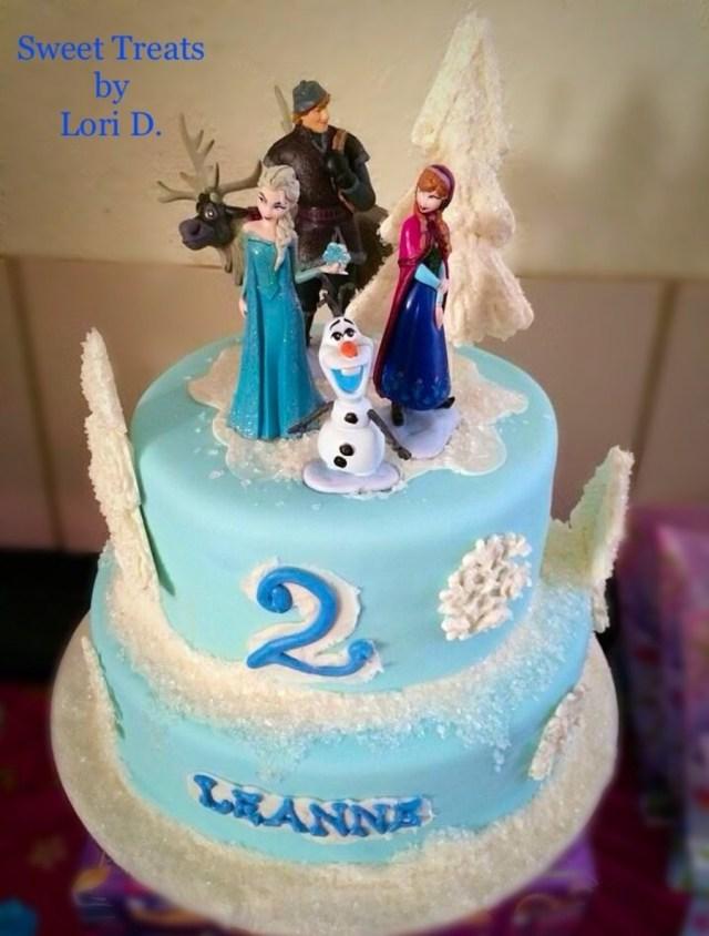 2Nd Birthday Cake Ideas Frozen 2nd Birthday Cake Cakecentral