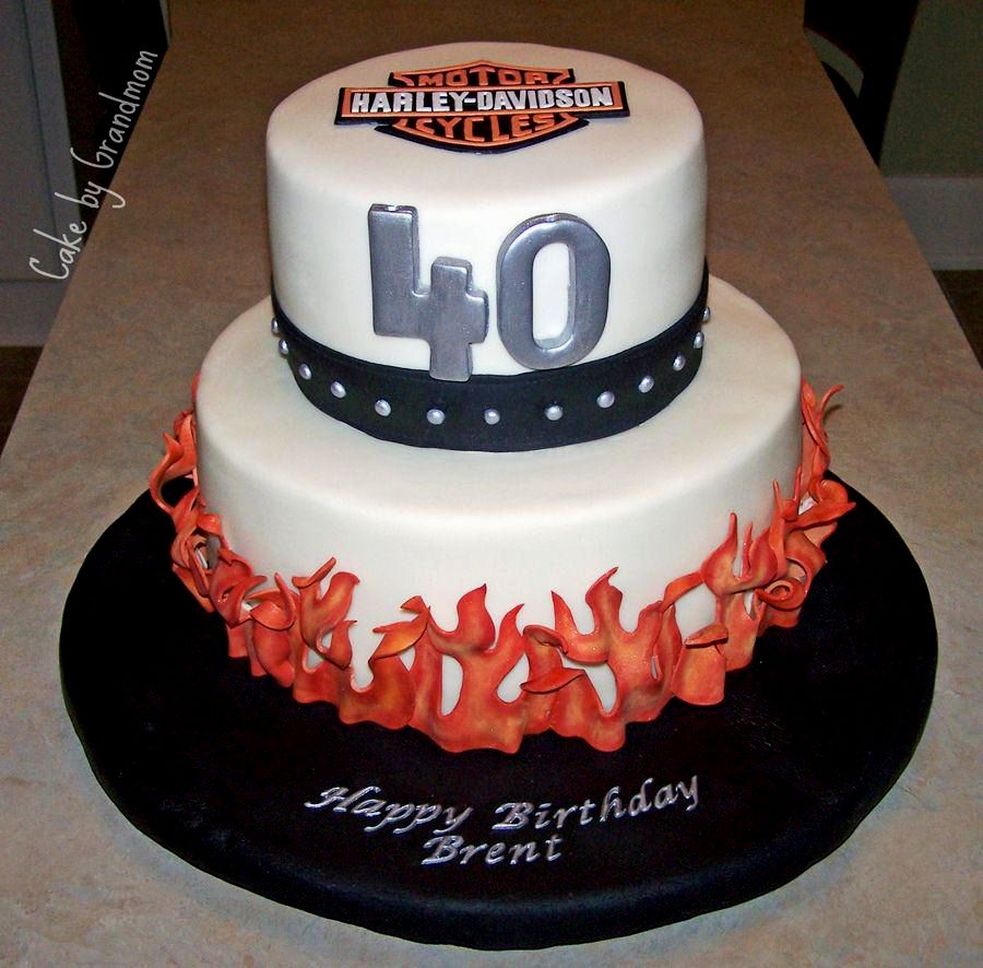 40Th Birthday Cake Ideas 10 40th Cakes For Him Photo