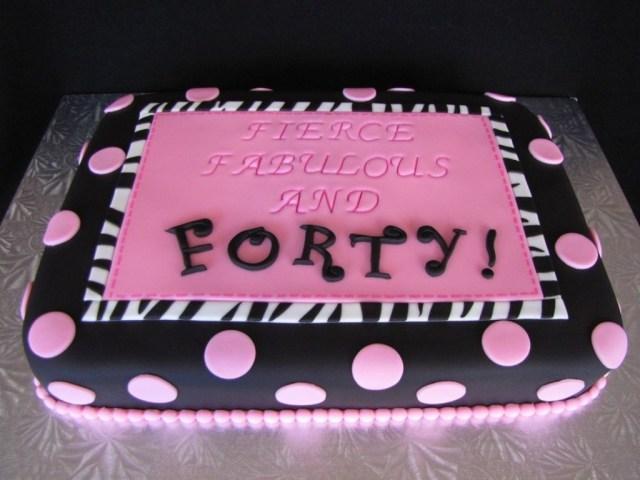 40Th Birthday Cake Ideas 40th Birthday Cake Sayings 4th Birthday Ideas 40th Birthday