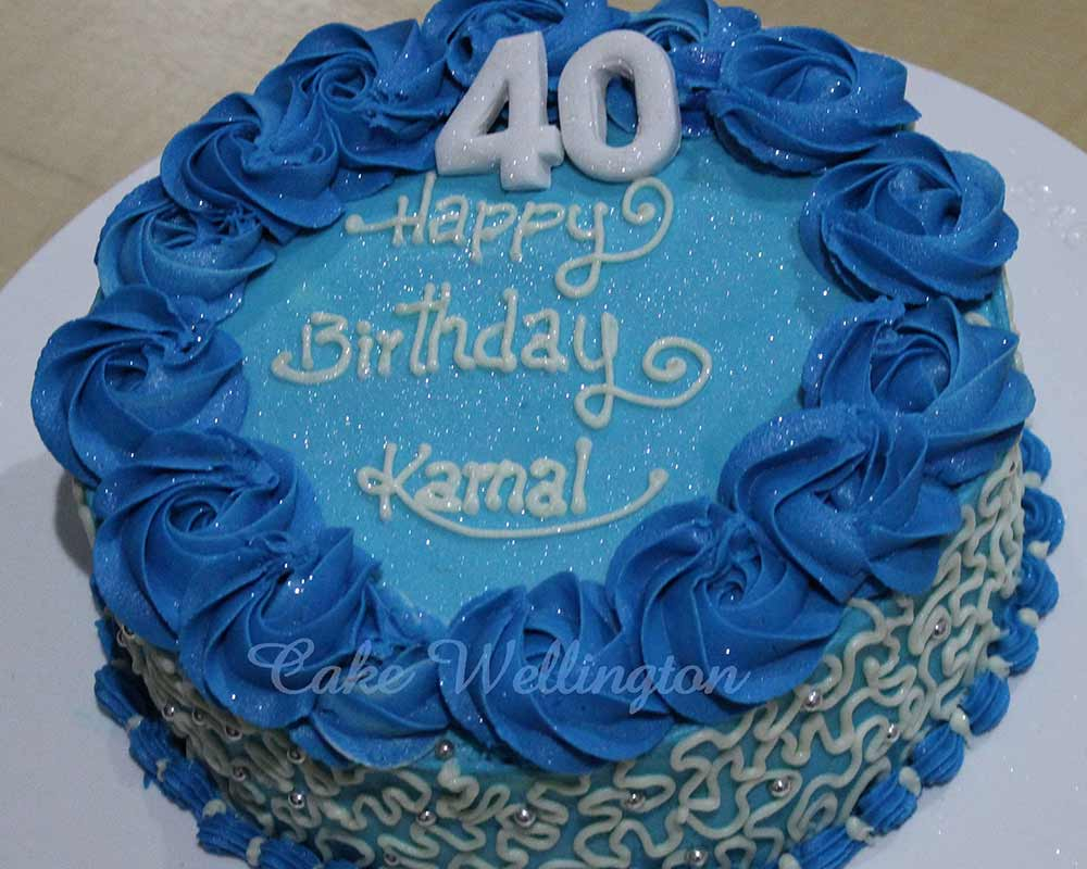 40Th Birthday Cake Ideas For Her 40th Him Men Ladies Decorations