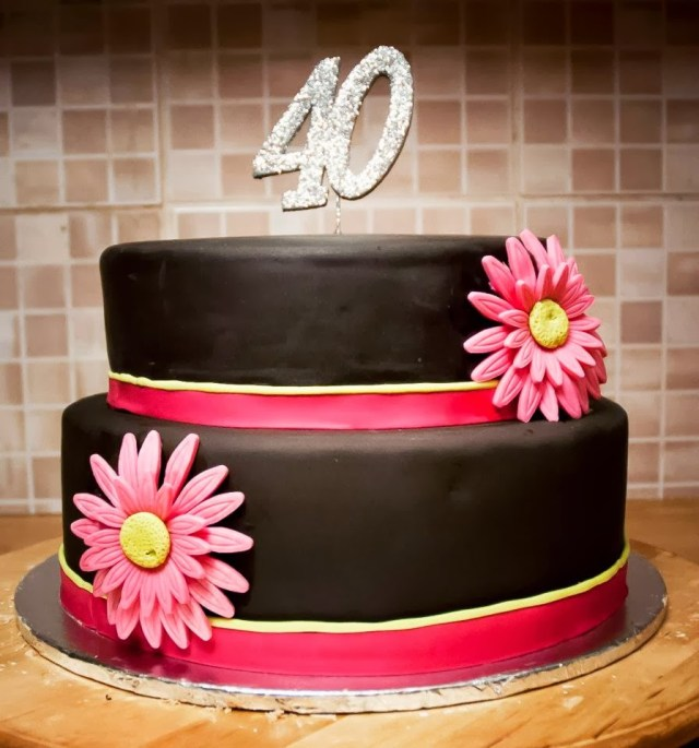 40Th Birthday Cake Ideas For Her Creative 40th Birthday Cake Ideas Crafty Morning